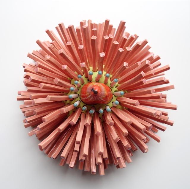 Zemer Peled, 'Shards Flower Pink 1', 2019, Visions West Contemporary