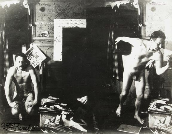 , 'Untitled (double self-portrait, nude),' 1960-1970, Galerie Julian Sander
