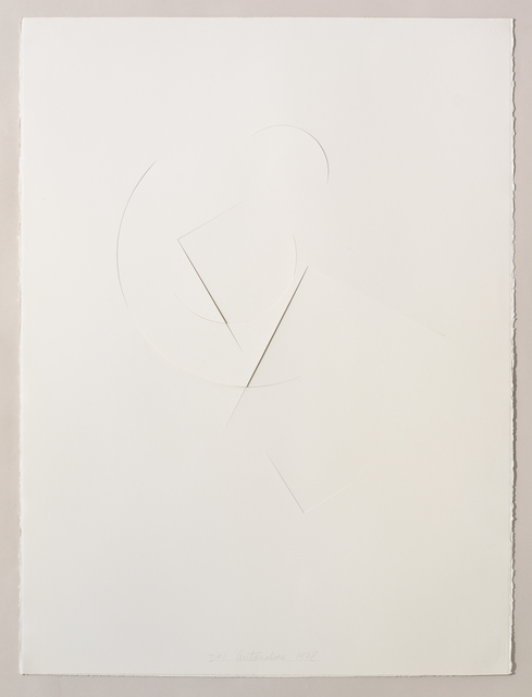 , 'Untitled Cut, D#1,' 1978, Bookstein Projects
