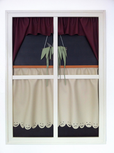 , 'Fenster 1,' 2014, Clages