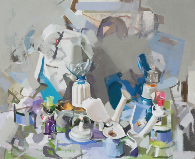 , 'Blue Aggregate,' 2015, Park Place Gallery