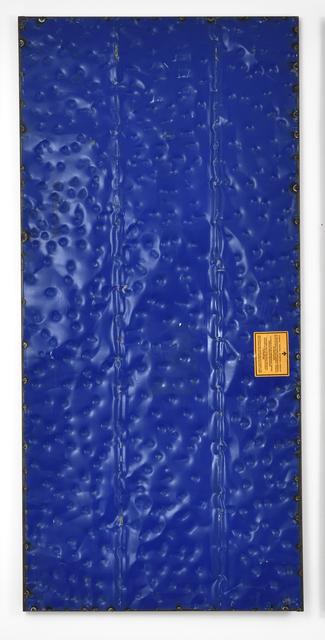 , 'Extrait (tôle,choc) Contre-Attaque, fragment 42,' 2016, Galerie Thomas Bernard
