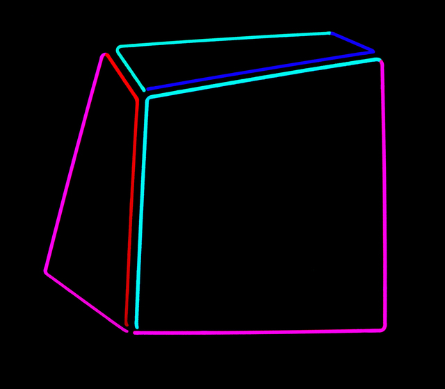 Anne-Katrine Senstad, 'Soft Geometry Neon #010B', 2015-2019, Yi Gallery