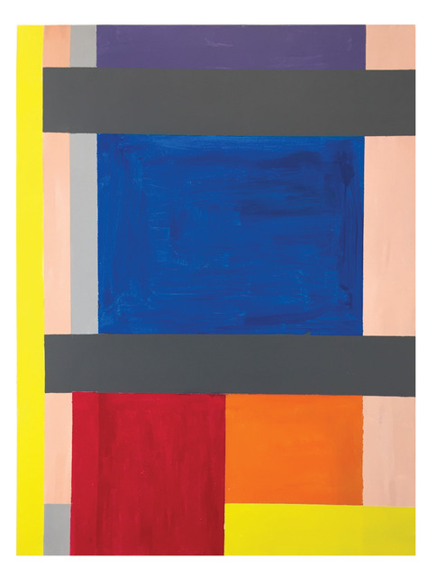 Thornton Willis, 'second shot', 2021, Painting, Acrylic on canvas, Elizabeth Harris Gallery