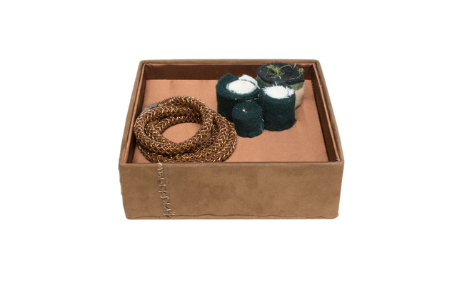 Steven and William Ladd, 'Netting Necklace and Box', 2007, Mingei International Museum