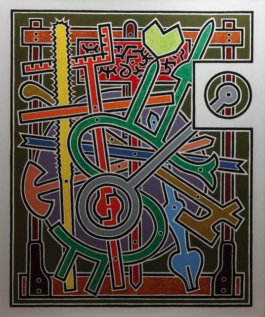 , 'Gong,' 1988, Gabarron Foundation