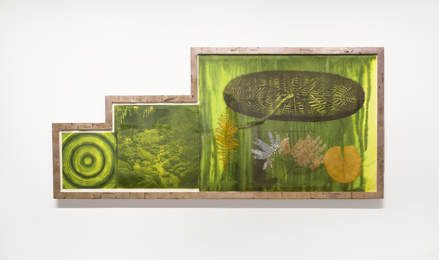 Judy Pfaff, 'Untitled (Target, Garden, Lily Pad)', 2001, Goya Contemporary/Goya-Girl Press
