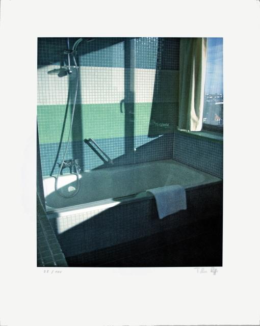 Thomas Ruff, 'No Title (Bathroom, Radisson SAS)', 2009, Print, Offset Lithograph, ArtWise