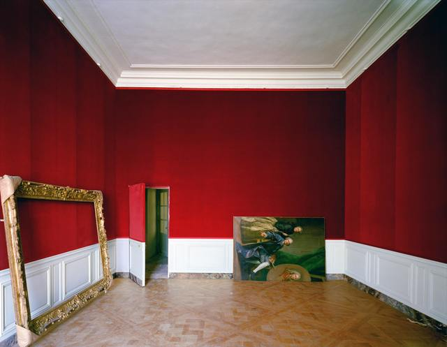 , 'Self-Portrait of the King's Portrai9st, The First Antechamber of Madame Victoire,' 1985, CAMERA WORK