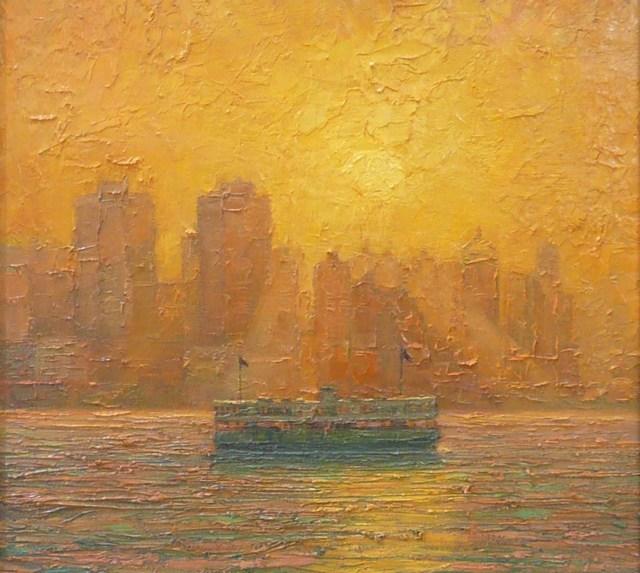 , 'Hong Kong Ferry,' 2018, Tanya Baxter Contemporary