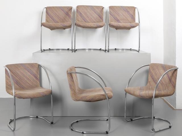 Giovanni Offredi, 'Six small armchairs for SAPORITI ITALIA 70s.', Aste Boetto