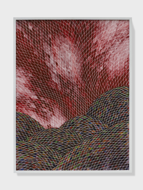 , 'Plein air painting of a hellscape II,' 2018, Sabrina Amrani