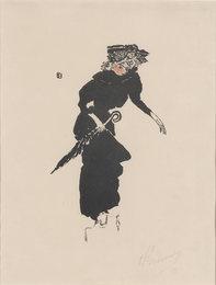 Femme Au Parapluie (Bouvet 33; Roger-Marx 35)