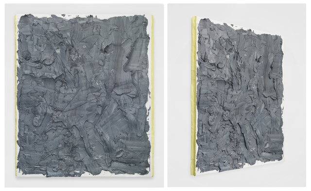 , 'Dark Mars Gray with Cadmium Yellow sides,' 2014, Jeff Lincoln Art+Design