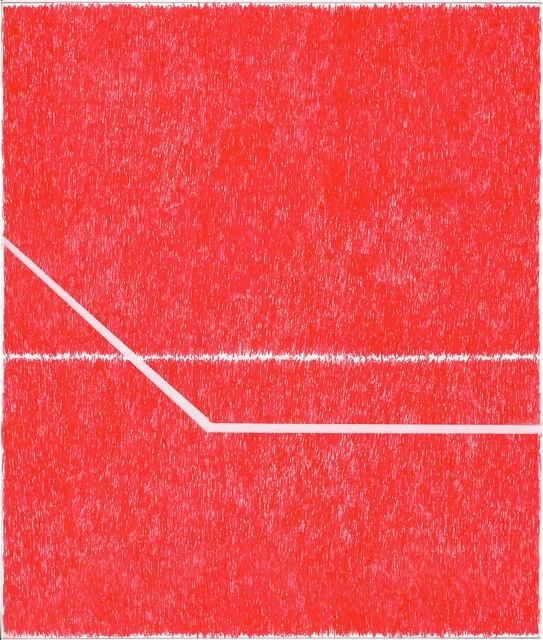, 'Spray Red 6,' 2019, Haw Contemporary