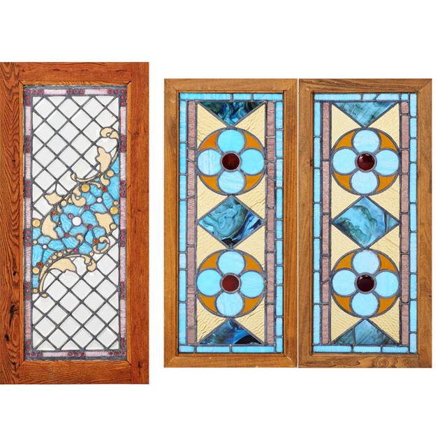 'Three Windows, USA', Early 20th C., Rago/Wright