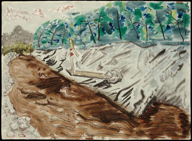 , 'The Swimming Hole,' 1943, Yares Art Projects