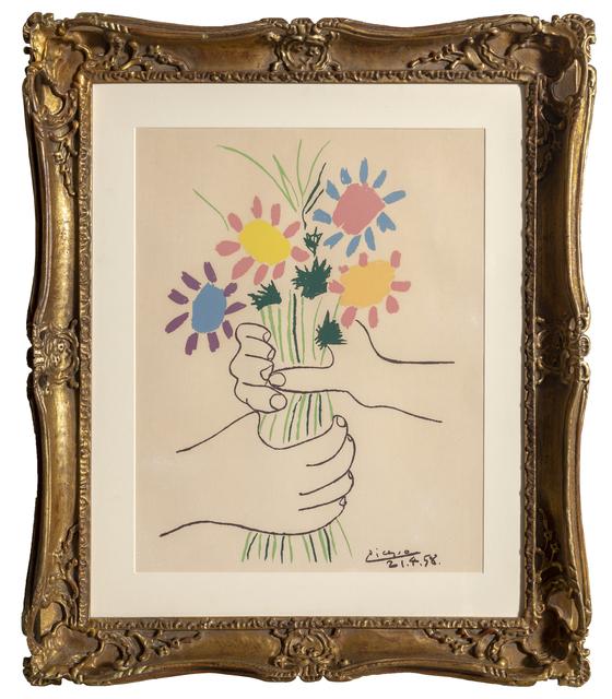 Pablo Picasso, 'Bouquet', 1958, RoGallery