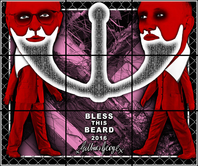 , 'BLESS THIS BEARD,' 2017, Lehmann Maupin