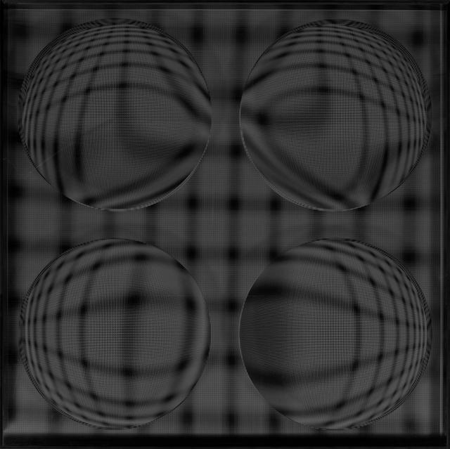 , '4 Esferas Expansivas (Negro),' 2015, Art Nouveau Gallery