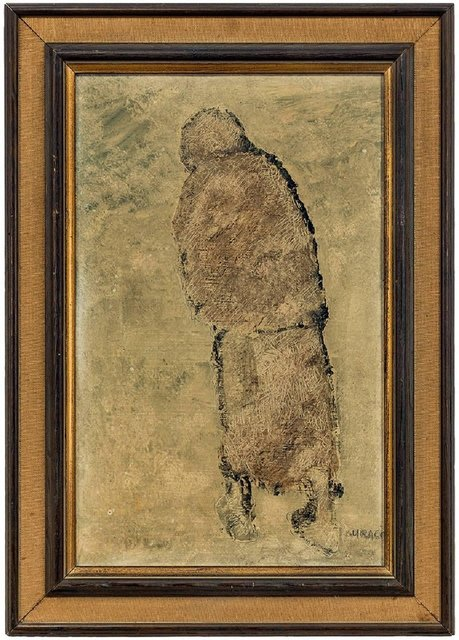 Ivan Kurach, 'Untitled, Lonely Figure. Italian Expressionist', Mid-20th Century, Lions Gallery