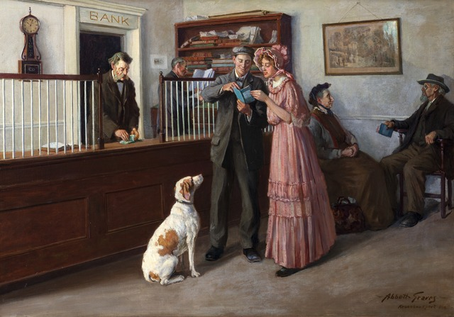 , 'The Nest Egg,' 1910, Montclair Art Museum