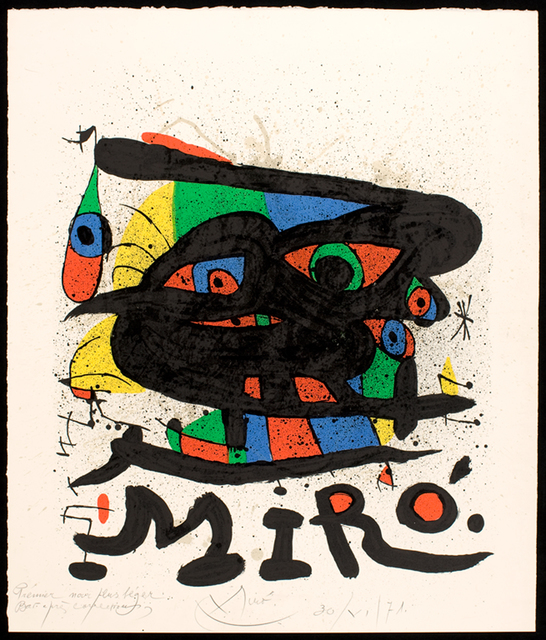 Joan Miró, 'Untitled', 1971, Walker Art Center