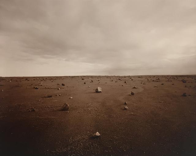 , 'Stones, Kau Desert, Hawaii,' 1991, G. Gibson Gallery