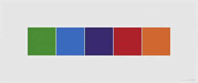 , 'Color Squares 4,' 2012, Gemini G.E.L.