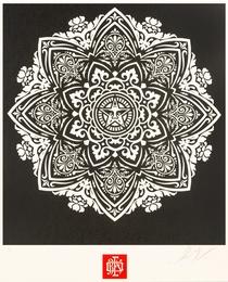 Mandala Ornament (Black)