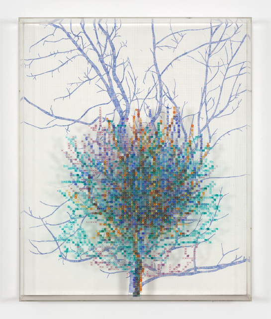 , 'Numbers and Trees II, Spike #4,' 1987, Hammer Museum