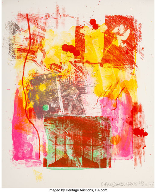 Robert Rauschenberg, 'Storyline II, from Reels (B+C)', 1968, Heritage Auctions