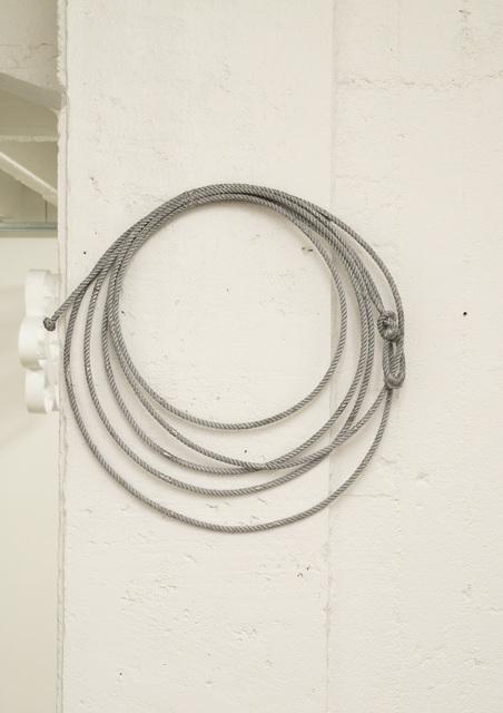 , 'Black Rope,' 2017, Galerie Jochen Hempel