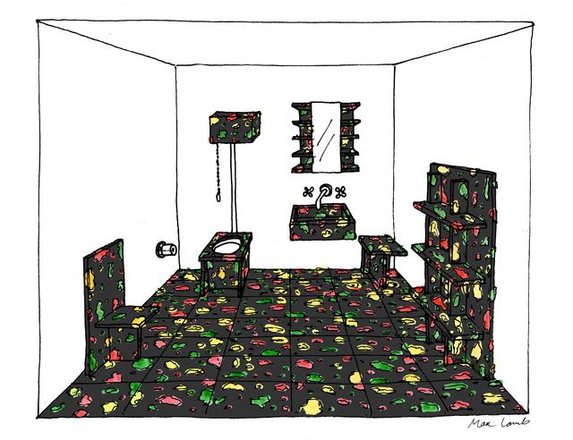 , 'Sketch,' 2015, dzek