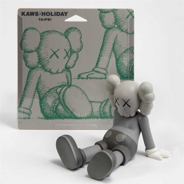 KAWS, 'Holiday (Grey)', 2019, Sculpture, Open edition vinyl collectable, Tate Ward Auctions