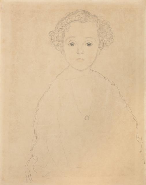 Gustav Klimt, 'Portrait of a Boy from the Front', 1917, W&K - Wienerroither & Kohlbacher