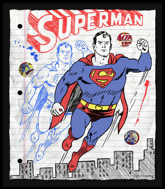 , 'Its Superman (Notebook Sketch) ,' , Bruce Lurie Gallery