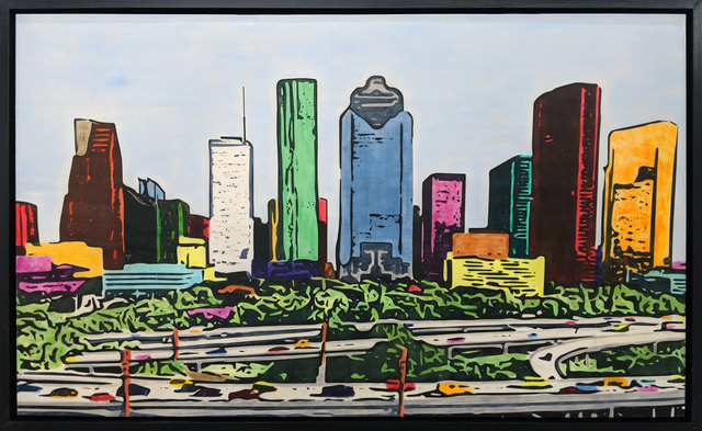 , 'H-Town Skyline 107,' 2019, Archway Gallery