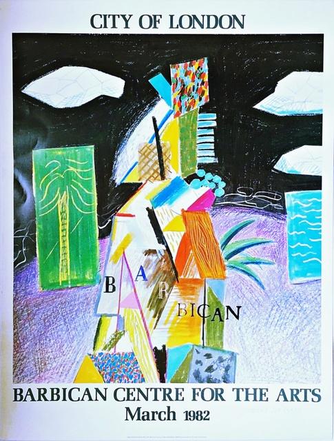 David Hockney, 'City of London (Hand Signed)', 1982, Alpha 137 Gallery
