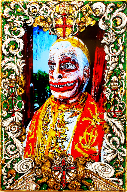 , 'The Guardian of All Virtue (Pope Ratzinger – Germany – Vatican Empire),' 2015, Postmasters Gallery