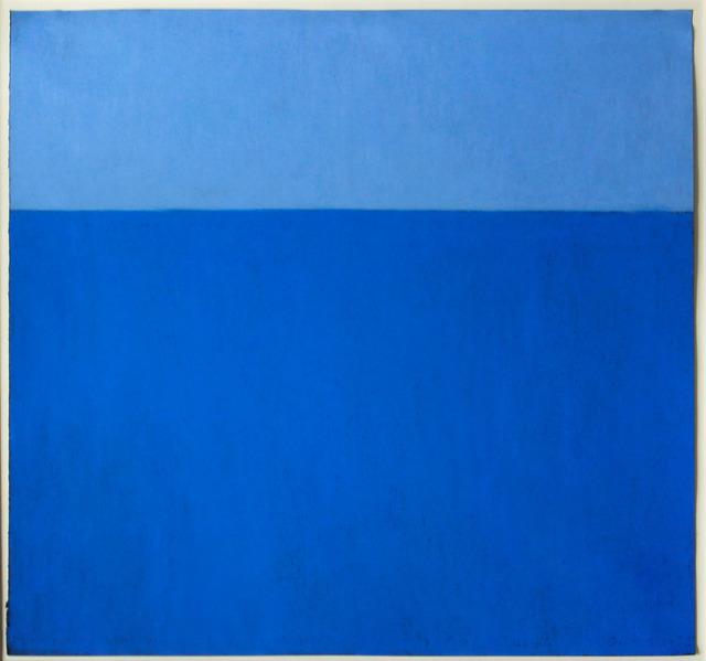 Harriet Zabusky-Zand, 'Motif in Blue/Indigo ', ca. 2005, Elizabeth Clement Fine Art