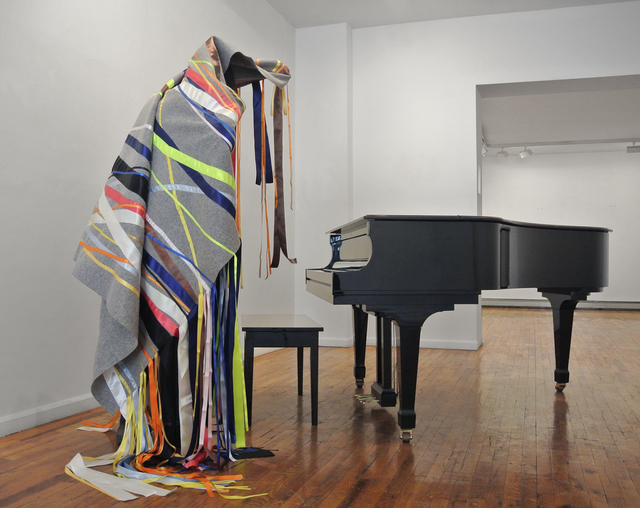 , 'Silent Noise for a Piano,' 2015, Galerie Hugues Charbonneau
