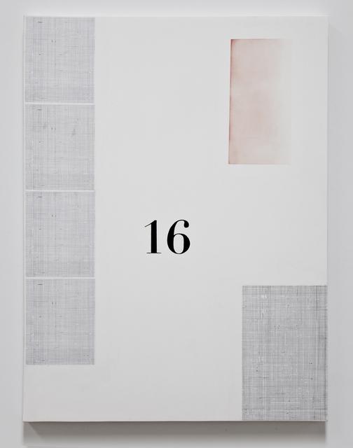 , '16,' 2016, Kohn Gallery