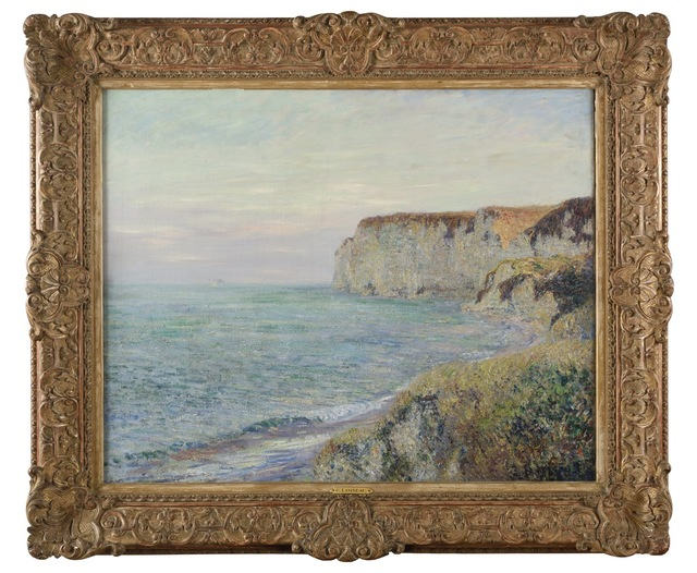 Gustave Loiseau, 'Falaise de Normandie ', 1907, Galerie Charraudeau
