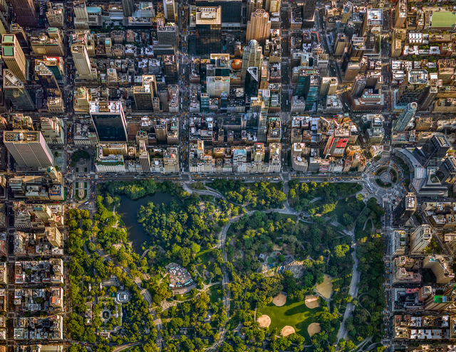 , 'NYC 59th Street + Central Park - NY Aerials,' 2017, ARTITLEDcontemporary