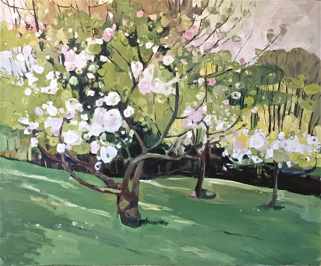 , 'Apple Blossom by the Dell,' 2017, Wychwood Art