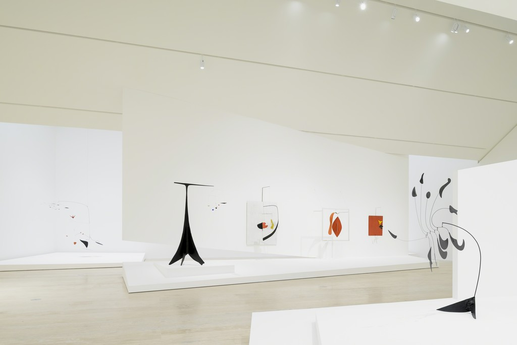 "Installation photograph, ""Calder: Discipline of the Dance"""