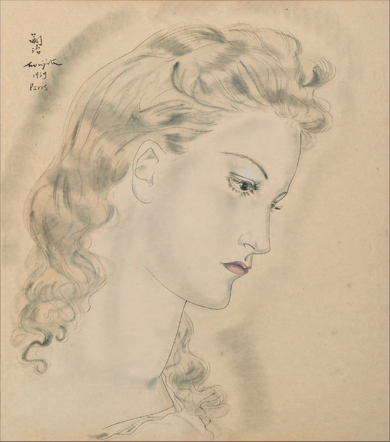 , 'Portrait de profil de femme blonde,' 1939, BAILLY GALLERY