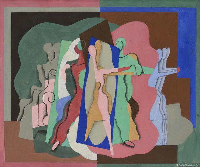 , 'Etude pour le Bal Musette,' 1927, Galerie Zlotowski