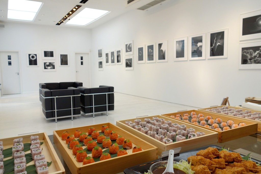 A delicious Japanese Brunch marked the opening of the show